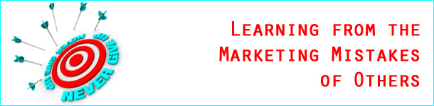 Learning From Marketing Mistakes